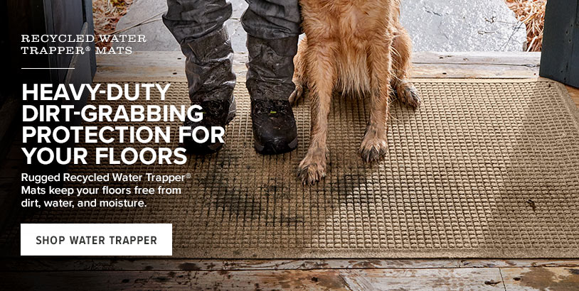 HEAVY-DUTY DIRT-GRABBING PROTECTION FOR YOUR FLOORS 