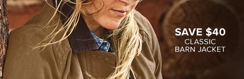 Save $40 | Classic Barn Coat