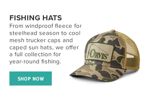 FISHING HATS - SHOP NOW