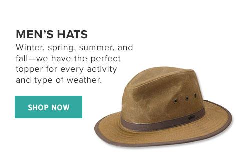 MEN'S HATS - SHOP NOW