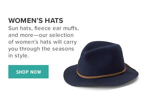 WOMEN'S HATS - SHOP NOW