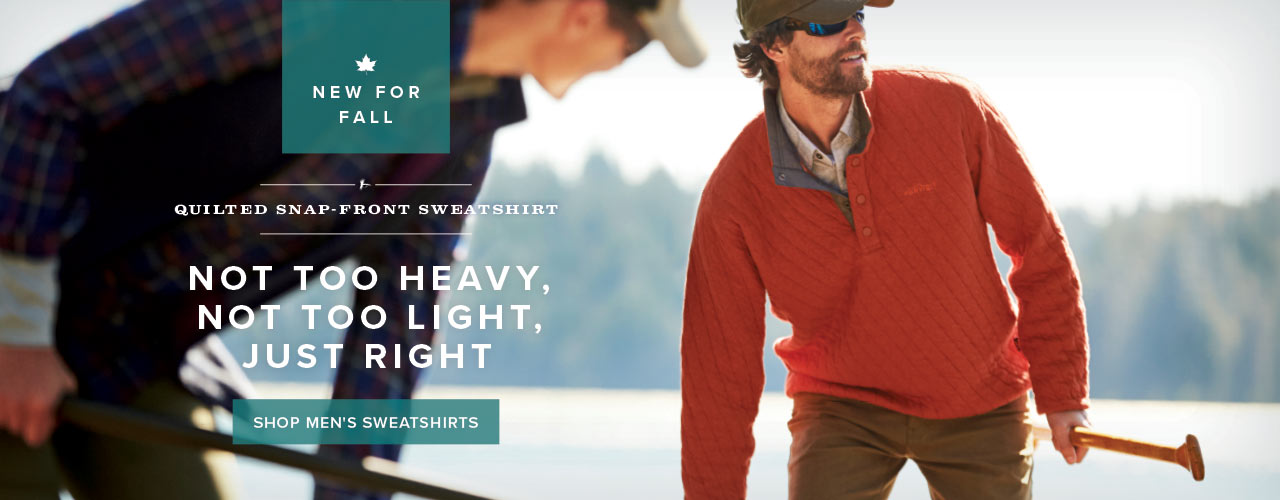 Not Too Heavy, Not Too Light, Just Right | Shop Men's Sweatshirts