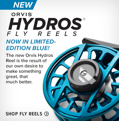 NOW IN LIMITED-EDITION BLUE!The new Orvis Hydros Reel is the result of our own desire to make something great, that much better.Shop Fly Reels