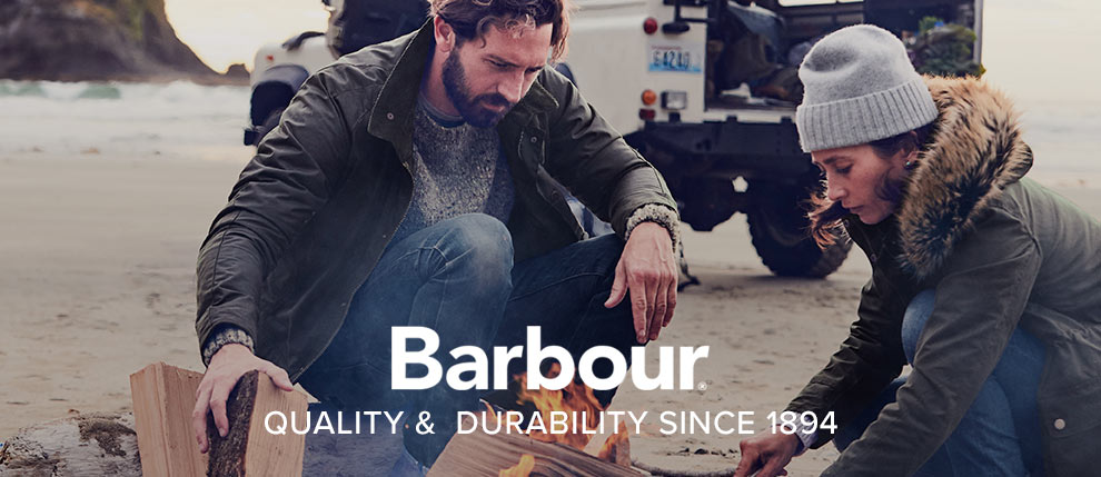 Barbour Quality and Durability since 1894