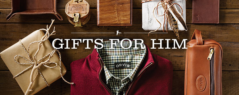 gifts for him orvis