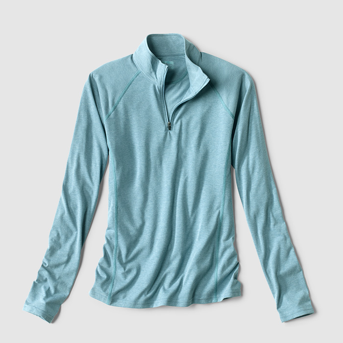 drirelease® Long-Sleeved Quarter-Zip Tee