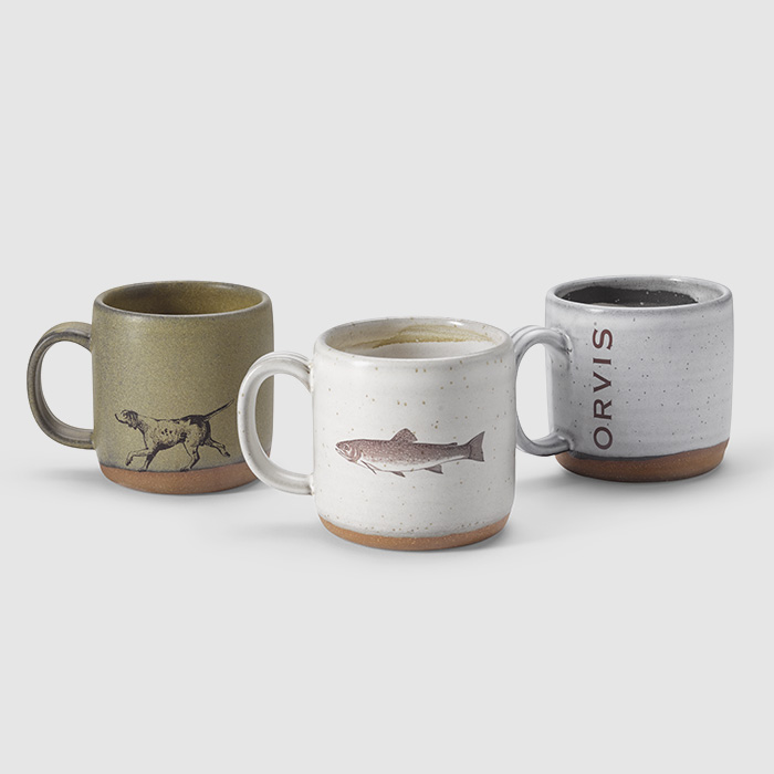 Orvis Ceramic Coffee Cup