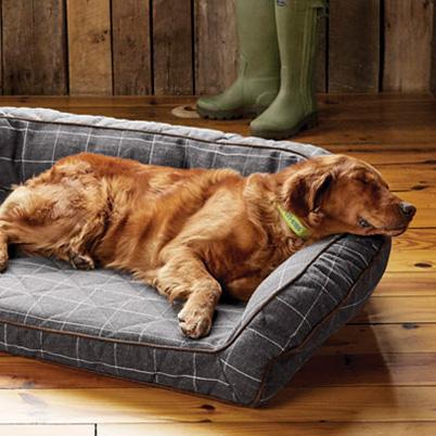 Orvis AirFoam Bolster Dog Bed