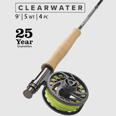 Clearwater® Rod Outfit