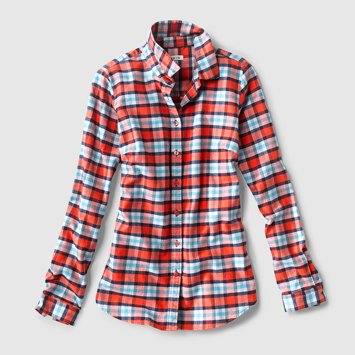 Lodge Flannel Plaid Shirt
