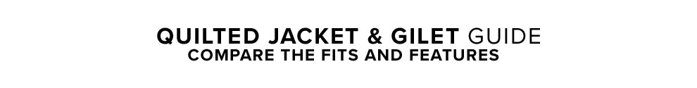 Jacket Guide - Compare the Fits and Features