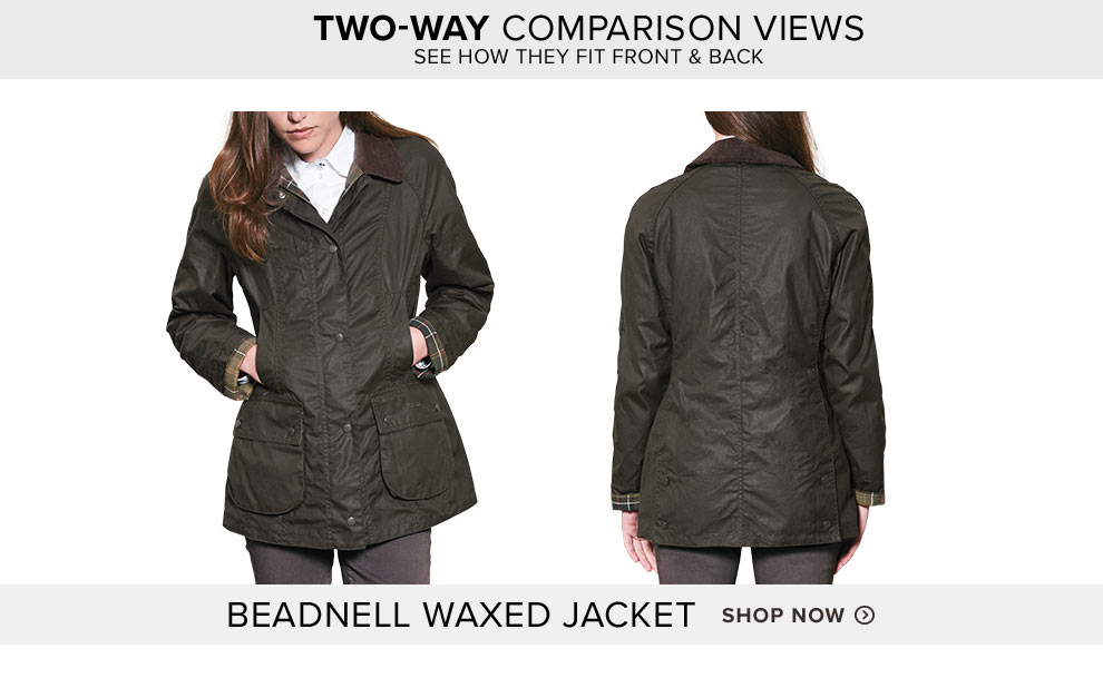 BARBOUR® BEADNELL WAXED JACKET - Shop Now
