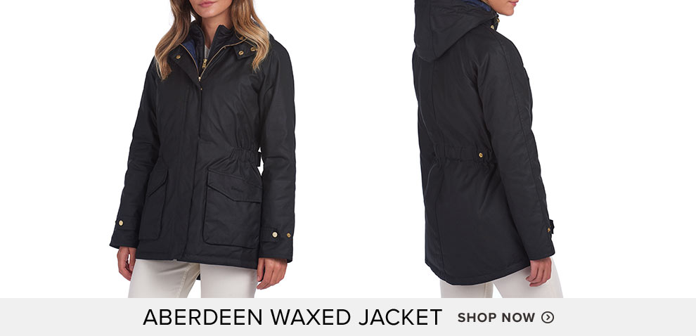 BARBOUR® Aberdeen Waxed Jacket  - Shop Now