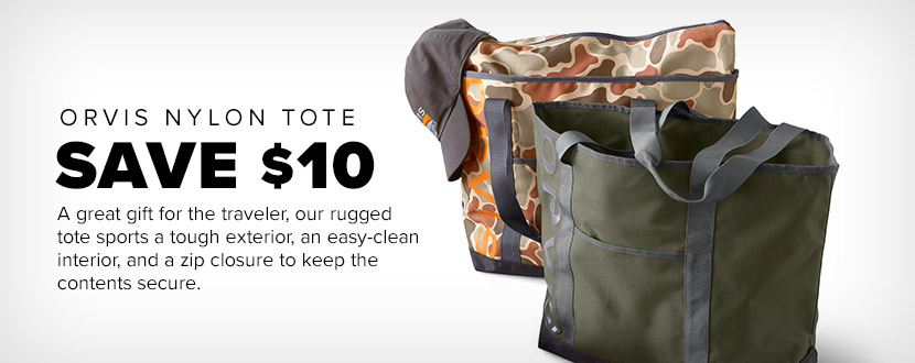 Save $10 on the Orvis Nylon Tote - Men's Accessories