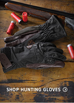SUPER-THIN, WATERPROOF & ONLY AVAILABLE HERE  The innovative design of our Waterproof Hunting Gloves means you don't have to sacrifice fit or dexterity to stay dry.  Shop Hunting Gloves