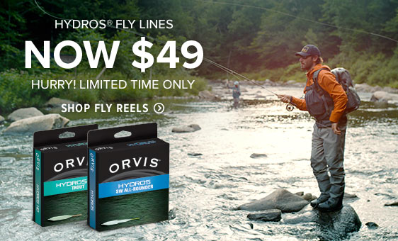 HYDROS FLY LINES NOW $49 - HURRY! LIMITED TIME ONLY - STOCK UP FOR THE SEASON AHEAD - Shop Fly Lines