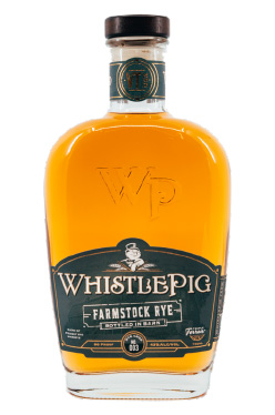 Bottle of WhistlePig Rye Whiskey