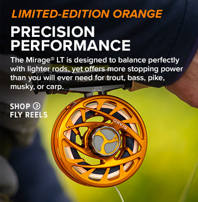 PRECISION PERFORMANCE The Mirage® LT is designed to balance perfectly with lighter rods, yet offers more stopping power than you will ever need. Shop Fly Reels