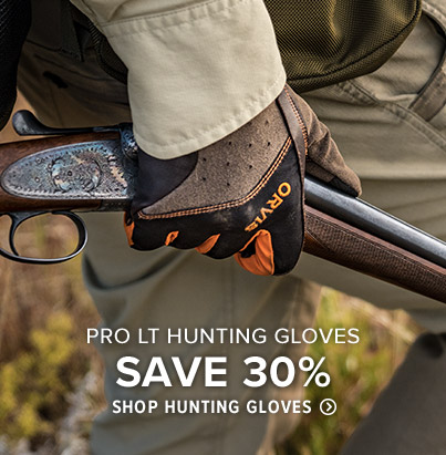 DESIGNED WITH THE SERIOUS UPLAND HUNTER IN MIND The innovative design of our Waterproof Hunting Gloves means you don't have to sacrifice feel, fit, and dexterity to stay dry. Shop Hunting Gloves