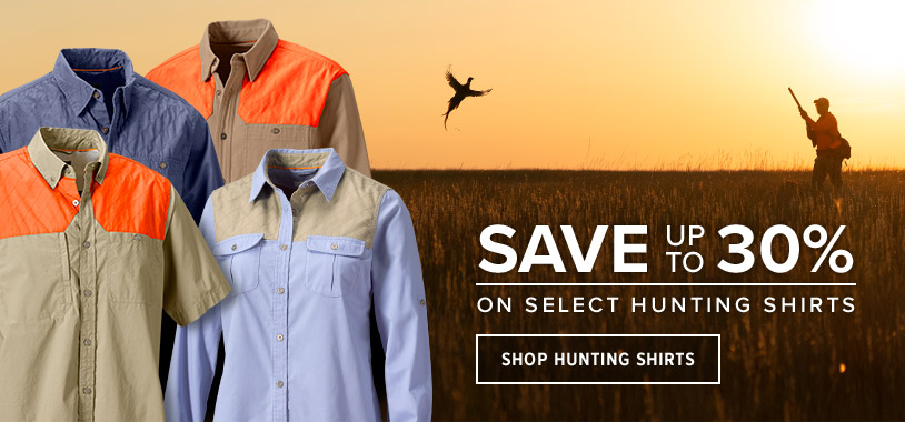 FIT FOR THE FIELD Designed by hunters for hunters, our shirts are built to deliver durability and comfort in all conditions. Shop Hunting Shirts.