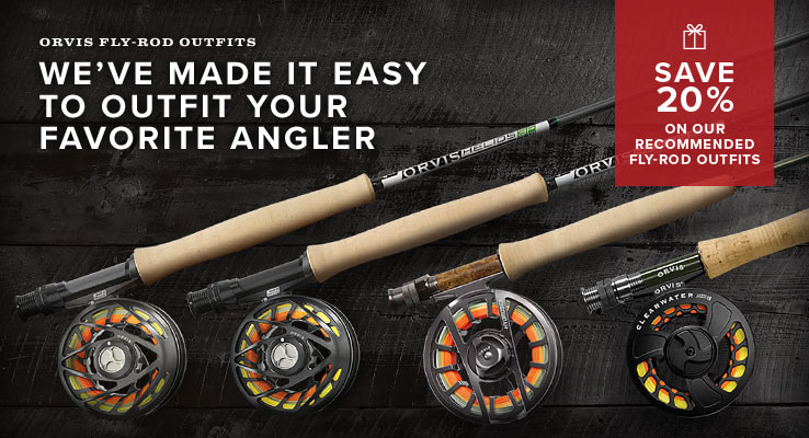 Save 20% on our recommended Fly-Rod Outfits
