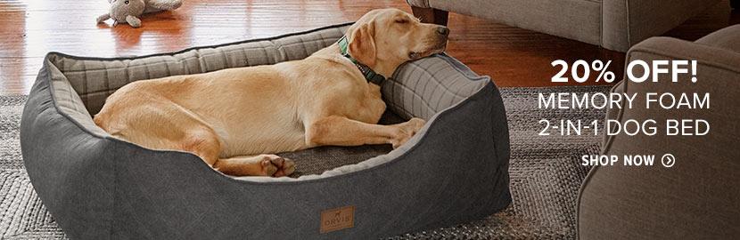 Dog Beds Memory Foam Toughchew Amp Bolster Beds Orvis