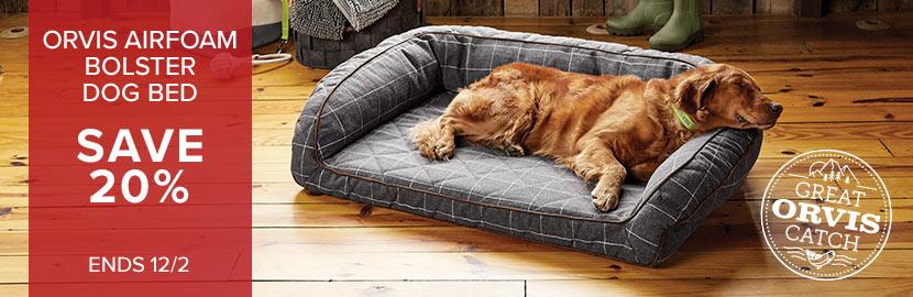 Wondrous Dog Beds Memory Foam Toughchew Bolster Beds Orvis Machost Co Dining Chair Design Ideas Machostcouk