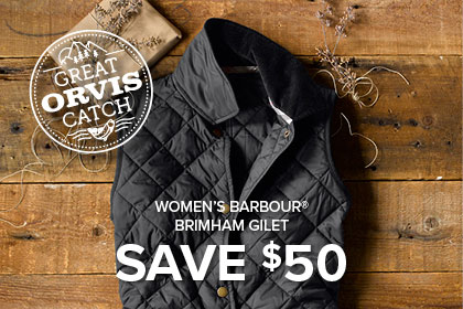 WOMEN'S BARBOUR® BRIMHAM GILET SAVE $50 HURRY! OFFER ENDS 12/9
