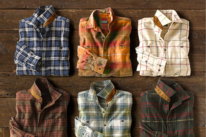 THE PERFECT GIFT  Warm, double-brushed, and great fitting, our Perfect Flannel Shirt is proof that all flannel is not created equal.  Shop Men's Shirts
