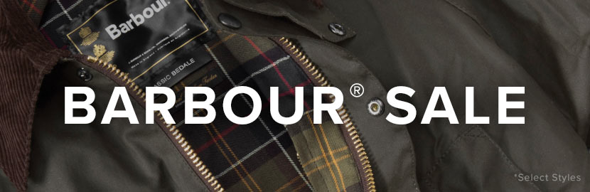Barbour Sale. Prices as Marked