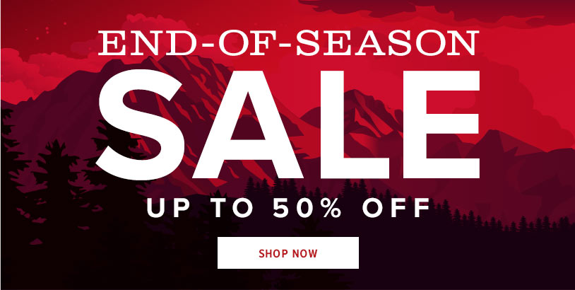 END-OF-SEASON SALE | UP TO 50% OFF | SHOP NOW