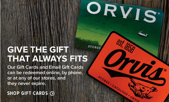 GIVE THE GIFT THAT ALWAYS FITS  Our Gift Cards and Email Gift Cards can be redeemed online, by phone, or at any of our stores, and they never expire.  Shop Gift Cards