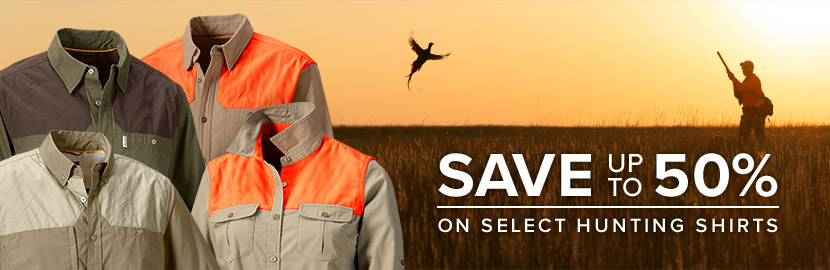Hunting Shirt Sale - Save up to 50%