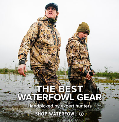 THE BEST WATERFOWL GEAR Handpicked by expert hunters - SHOP WATERFOWL