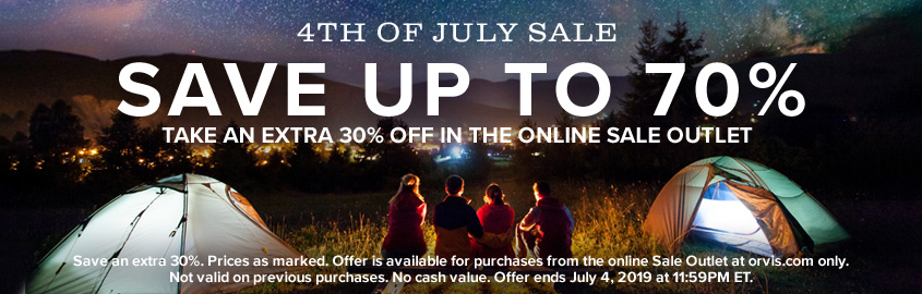 4th of July | SAVE UP TO 70% IN THE ONLINE SALE OUTLET