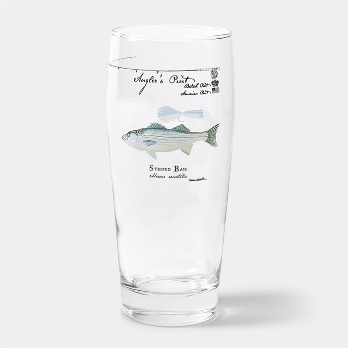 Angler's Pint Glass