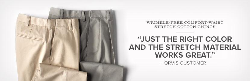 Comfort Waist Pants for Men