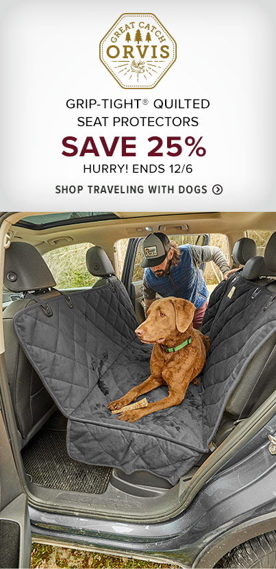 GRIP-TIGHT® QUILTED BACKSEAT PROTECTOR SAVE 25% HURRY! ENDS 12/6