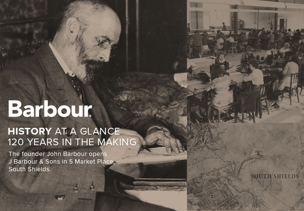 Barbour History at a Glance - 120 Years in the Making