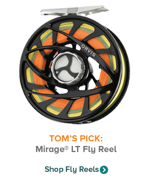 TOM'S PICK: Mirage LT Fly Reel | Shop Fly Reels