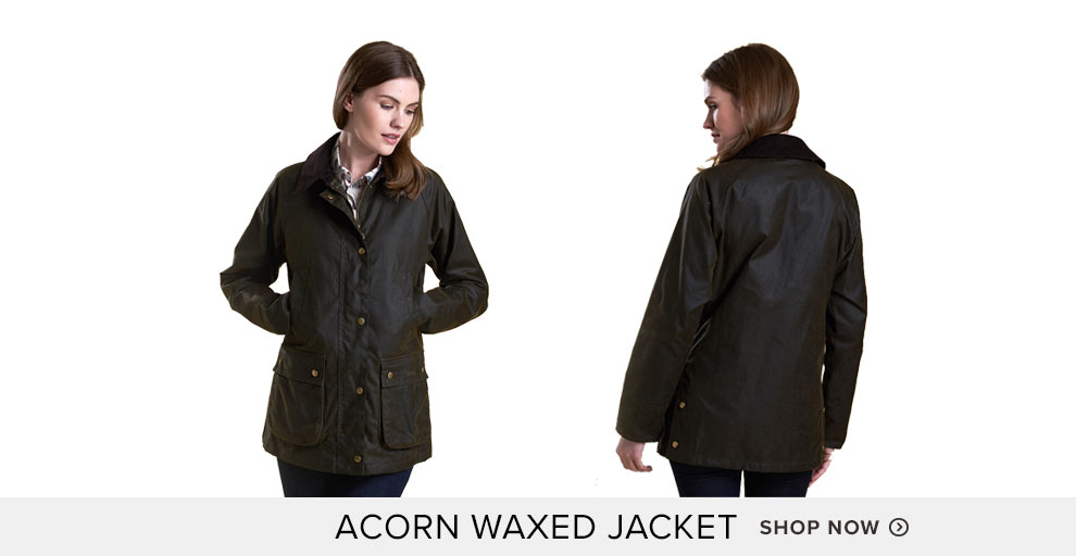 Lightweight Acorn Waxed Jacket - Shop Now