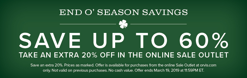 Save up to 60% in the Online Sale Outlet