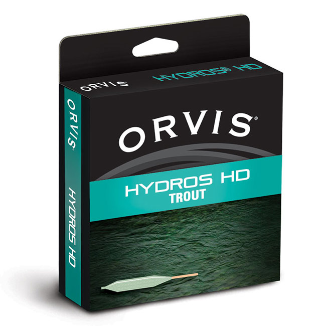 Textured lines have risen to an entirely new level. Created with features to improve your cast and presentation, the Hydros HD Trout line gives you incredible frictionless casting for most trout fishing situations. HD texturing teamed with IS, our most versatile trout taper, a Hy-Flote Tip, and the new and improved welded loop, combine to offer the finest trout line we've ever offered. The microreplicated pattern provides increased line durability, while allowing for easier pick-ups, less drag, easier mending, and greater shootability.