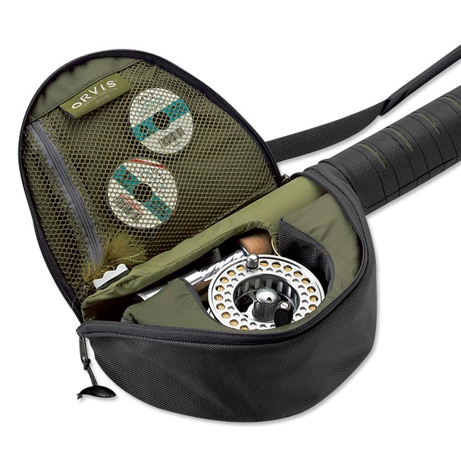 Carry on fly rod reel case for Fishing rod case