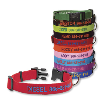 Personalized Adjustable Dog Collar