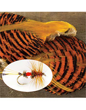 Produce vibrant flies with these fly tying pheasant feathers.