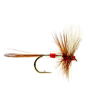 This hackle dry fly is ideal for fishing hatches on rivers and ponds.