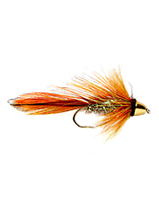 Put one of these flies on during the fall and early spring and watch the brown trout appear.