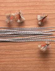 Select rooster saddle feathers are the way to go for tying duplicate flies. Made in USA.