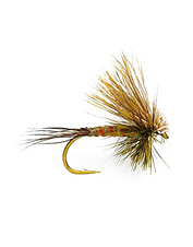 Rough water demands this high-floating Green Drake mayfly pattern.